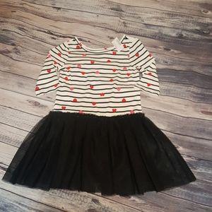 The Children's Place Hearts Dress, sz 7/8